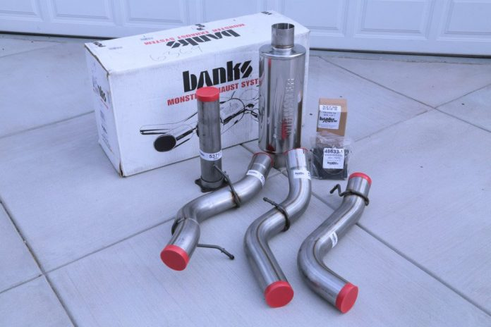 Breathing Apparatus - Installing a Banks Monster exhaust